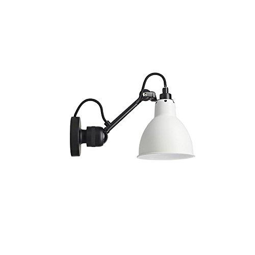 DengWu Wandverlichting, moderne en minimalistische Nordic slaapkamer-bedlampen, creatieve Amerikaanse kinderwerkkamer, die uittrekbare wandlampen wit kan draaien