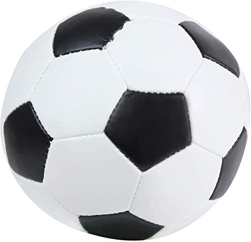 Lena 62177 - Pallone da calcio Softball da 13 cm, per giocare in interni ed esterni, morbida palla da calcio per bambini a partire da 12 m