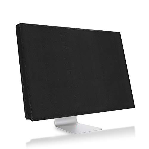 kwmobile Schutzhülle kompatibel mit 24-26' Monitor - Hülle PC Bildschirm - Computer Cover Case - Schwarz