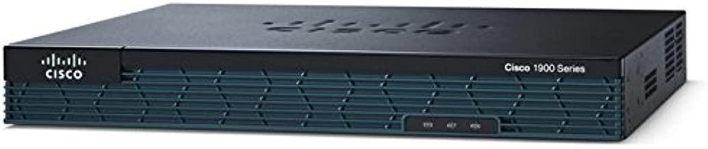CISCO 1921/K9 - Cisco 1921 1000 Mbps 2-Port Gigabit Wireless Router (CISCO1921/K