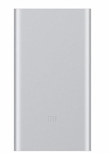 Xiaomi 10000mAh Mi Power Bank Portable Battery Charger, Silver