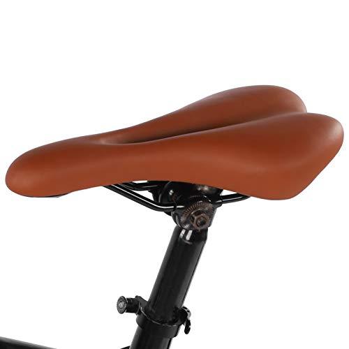 Sillín de Bicicleta, Sillín de Bicicleta Grueso, Bicicleta de Carretera Bicicleta estática...