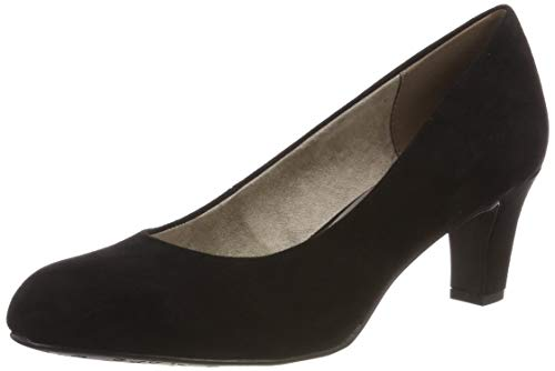 Tamaris Damen 1-1-22418-22 Pumps, Schwarz (Black 1), 37 EU