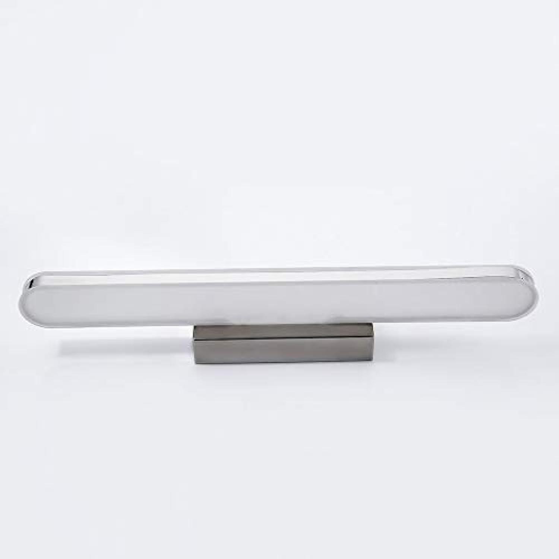 Badezimmer Lichter LED-Spiegel-Scheinwerfer, Spiegel-Lack-Wand-Lichter Schnheits-Retro- wasserdichte Anti-fog Spiegel-Licht Deckenleuchte (Farbe   Weies Licht-10w528  5cm)