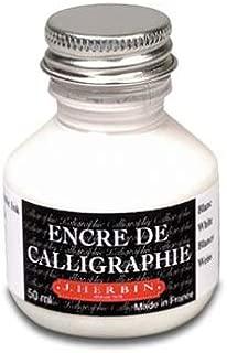 J. Herbin Calligraphy Ink (50 ml Bottles, White)