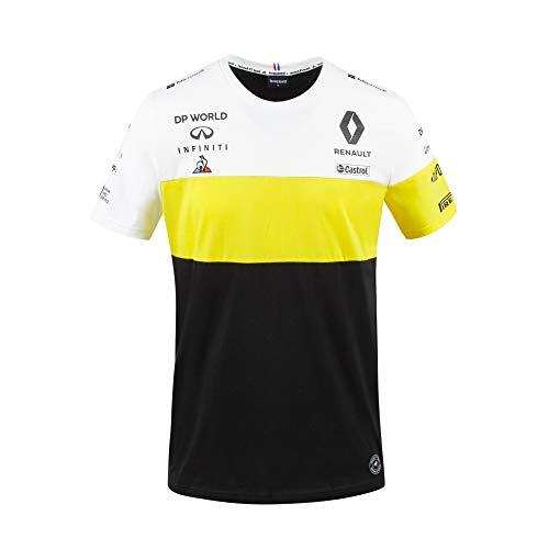Renault F1 Team 2020 T-Shirts & Poloshirts, offizielles Formel 1 Merchandise, Schwarz Ricciardo #3 T-Shirt, Mens (L) 106cm/42 inch Chest