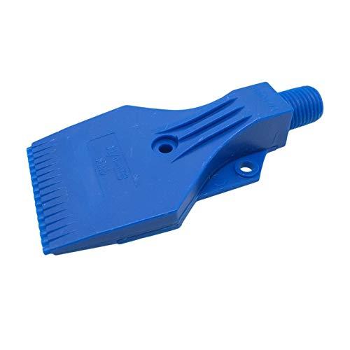 CGjiogujio ABS Air Blower Air Nozzle Air Knife Wind 1/4' BSPT Plastic 3 Holes