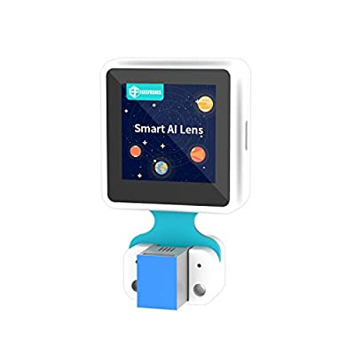 Elecfreaks Micro:bit Smart AI Lens Kit Planet X Vision Sensor with Recognition Function Module and Trained Models 1.3 Inch Mini Screen
