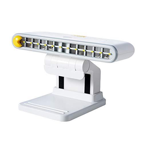 LOVIVER Clip Fan USB uppladdningsbar bärbar speldator skärm bärbar mapp för kontor – vit