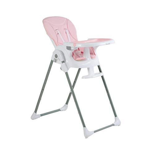 KUANDARYJ Chaise Haute Bébé Réglable, Pratique et Compacte 3 en 1 Chaise Haute pour bébé évolutive, de 6 Mois à 3,5 Ans, Red