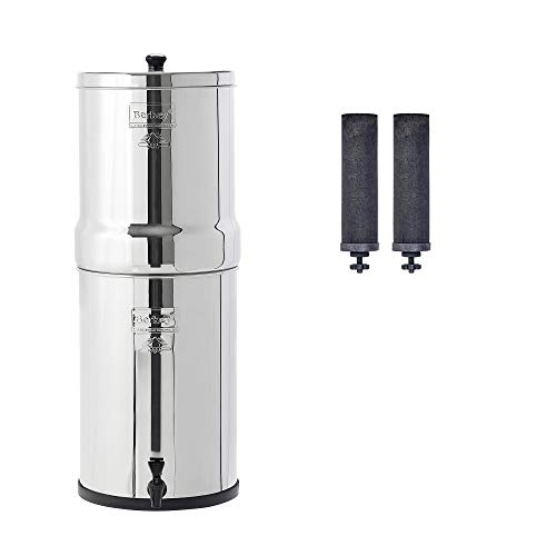 Crown Berkey Gravity-Fed Water Filter with 2 Black Berkey Purification Elements