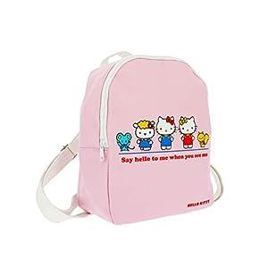 31gvdOplvEL. SS300  - Hello Kitty Essential – Mini mochila | piel sintética | correas ajustables | Hello Kitty & Friends, rosa