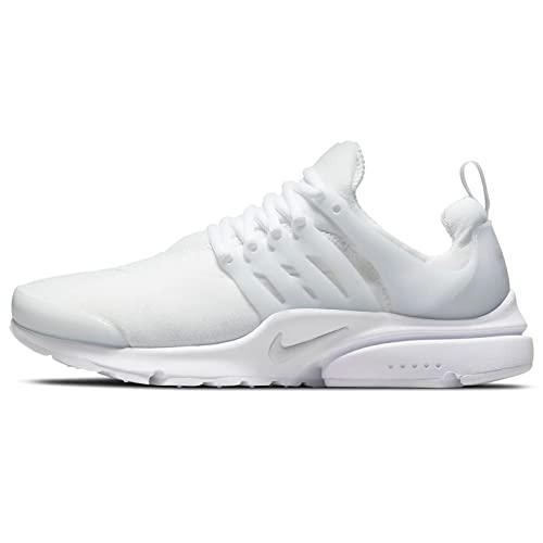 Nike Air Presto, Scarpe da Ginnastica Uomo, White/Pure Platinum, 45 EU