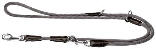 Hunter Verstellbare Hundeführleine Freestyle, dunkelbraun, 1,0/200 cm - 2