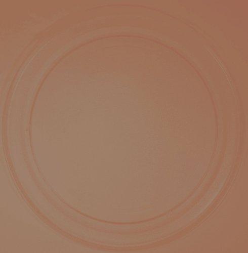 Mikrowellenteller / Drehteller / Glasteller für Mikrowelle # ersetzt Technostar Mikrowellenteller # Durchmesser Ø 36 cm / 360 mm # Ersatzteller # Ersatzteil für die Mikrowelle # Ersatz-Drehteller # OHNE Drehring # OHNE Drehkreuz # OHNE Mitnehmer
