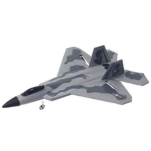 W-star RC Aviones Caza a reacción Planeador de Espuma de ala Fija de avión eléctrico Resistente a caídas Giroscopio Incorporado RC Fighter Avión RC Recargable por USB Batería reemplazable