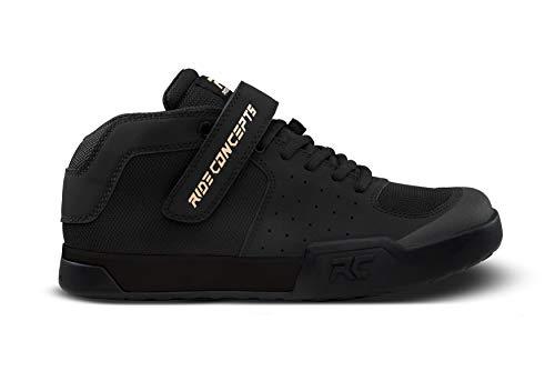 Ride Concepts Wildcat Zapatos de bicicleta de montaña con pedal plano para mujer, negro (Negro/Dorado), 39 EU