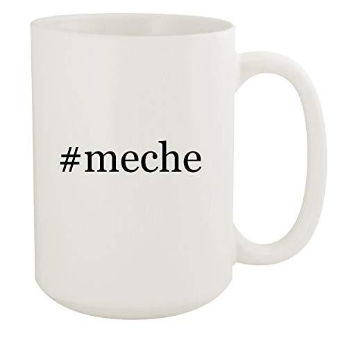 #meche - 15oz Hashtag White Ceramic Coffee Mug