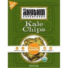 Rhythm Kale Chips Ranking Special price TOP6 95+% Organic 24x 2Oz Habanero Mango
