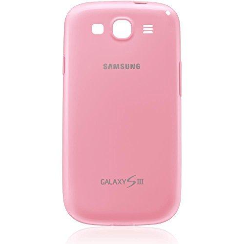 Samsung Original Cover EFC-1G6WPECSTD in transparent pink fur Samsung Galaxy S3