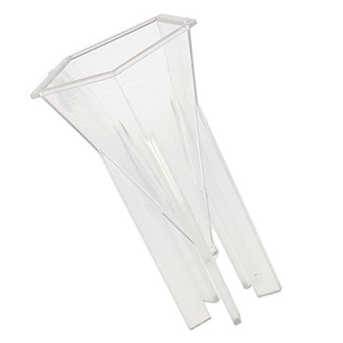 Clair S MagiDeal Moule en Silicone Moule de Savon en Plastique pour Fabrication de Bougie Fourniture Artisanale DIY