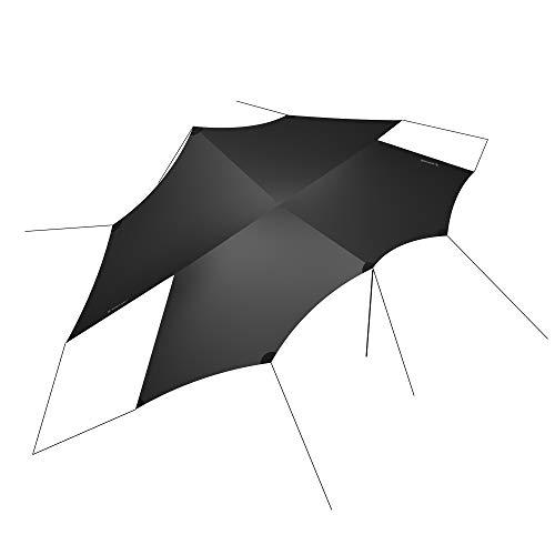 HEIMPLANET Original | Dusk Tarp Plane Shelter | Zelt Tarp mit 5000mm Wassersäule | Zeltplane mit Ösen | Unterstützt 1% for The Planet