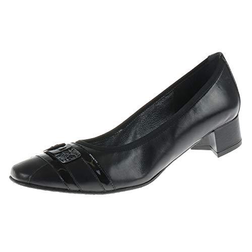J. Metayer damesschoenen Ballerina met hak Macher zwart 511523006
