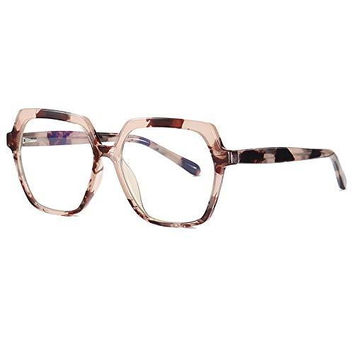 Gafas de Sol Sunglasses Tr90 Marco Flexible Gafas De Bloqueo De Luz Azul para Mujeres Hombres Gafas De Polígono Marco Gafas para Juegos De C