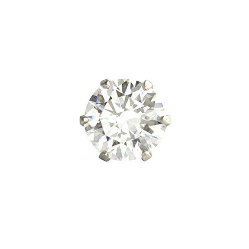 【 DIAMOND WORLD 】レディース ジュエリー PT900 0.5ct スーパーキュービック ピアス 6本爪タイプ Dカラー...