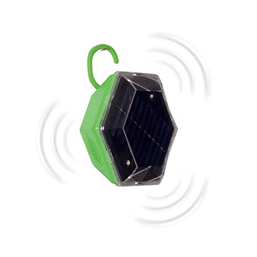Gardigo Solar 360° Vogelvertreiber Funktionsart Multifrequenz, LED-Licht Wirkungsbereich 150 m² 1 St.