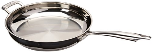 Cuisinart 8922-30H Professional Stainless Skillet with Helper, 12-Inch
