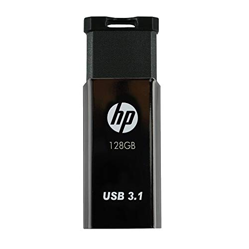 HP x770w Chiavetta USB 3.1 da 128 GB, velocità di lettura fino a 200 MB/s, Design metallico