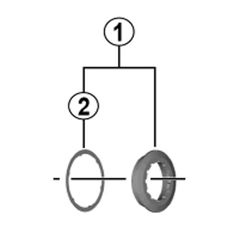 顕著時計量SHIMANO(シマノ) CS-M8000 ロックリング/スペーサ Y1RK98010