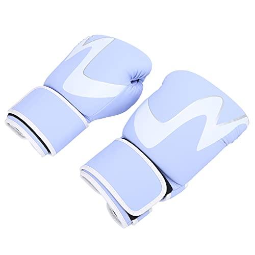 VGEBY Gants de Boxe Combat Libre Gants de Boxe Hommes Femmes Muay Thai Guantes Sandbag Training Glove 12oz(Violet)