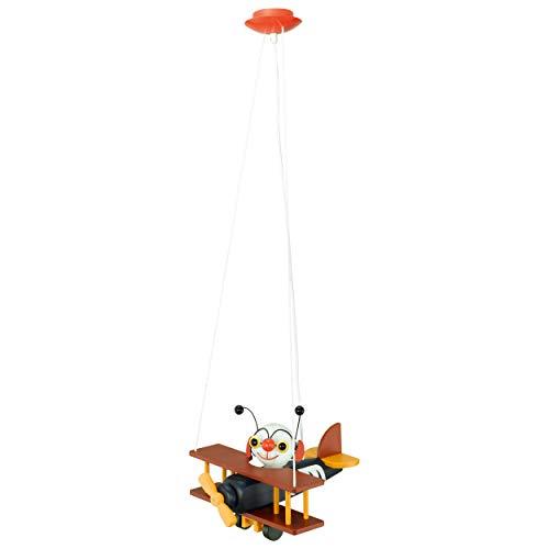 Eglo 88399 Taya Plafonnier à Spots en Acier Pour enfant Gu10 Nickel Mat/Multicolore 50 W