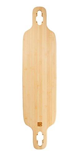 Bamboo Skateboards Twin-Tip Drop Through Blank Skateboard Deck