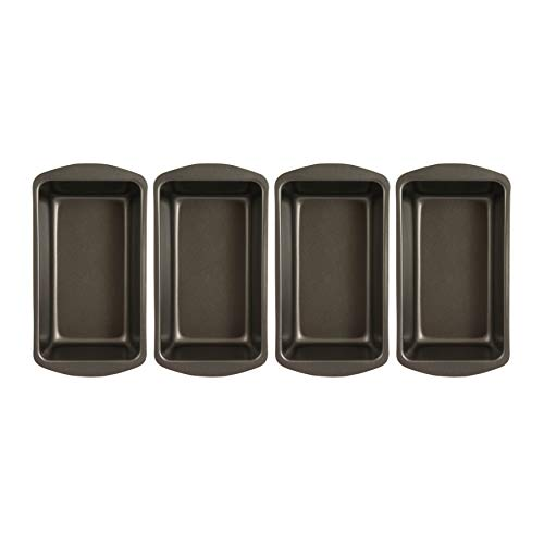 Range Kleen Master Bread Baker Large Loaf Pan Non-Stick (4-Pack) Bundle (4 Items)