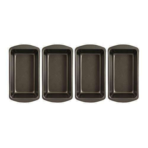 Range Kleen Master Bread Baker Large Loaf Pan Non-Stick (4-Pack) Bundle (4 Items)