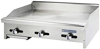 """Turbo Air (TAMG-36) - 36"""" Gas Griddle – Radiance Series"""