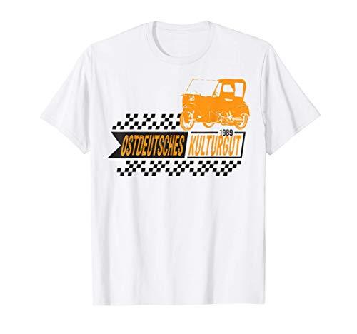 Simson DUO Moped DDR S51 Schwalbe Fan Geschenk T-Shirt