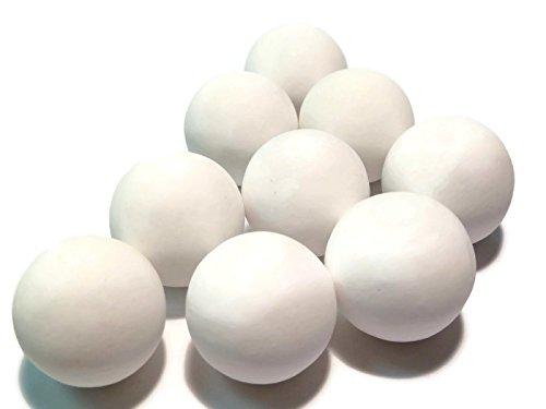 22mm Keramikkugeln, ceramic balls, 90% Al2O3, rund, matt, Mahlkugeln, Verschiedene Mengen verfügbar (1,0kg)