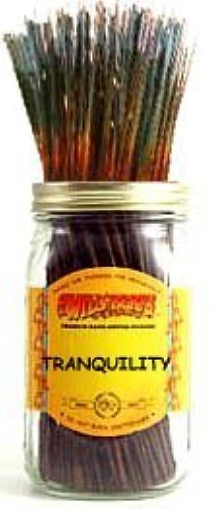 平等結晶効能あるTranquility - 100 Wildberry Incense Sticks [並行輸入品]