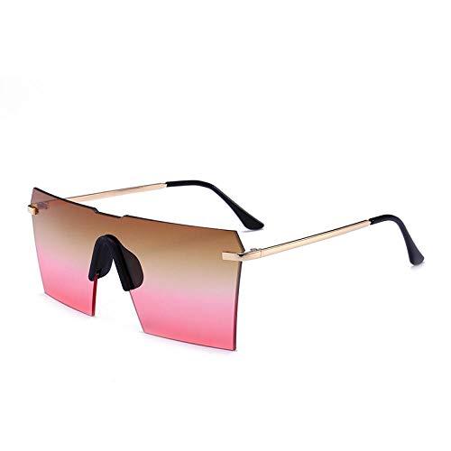 ZZZXX Gafas De Sol NiñosGafas De Una Pieza Sin Marco Polarizadas Uv400 Protección Para Conducir Pesca Al Aire Libre Marco De Acetato,Con Caja De Regalo Y Paño Para Vasos