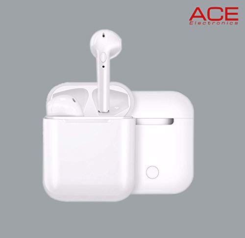 Modelos de explosión transfronterizas i9s TWS Auricular Bluetooth Wireless Mini Auricular binaural Bluetooth 5.0 Pares Llaman i9s (Color : White)
