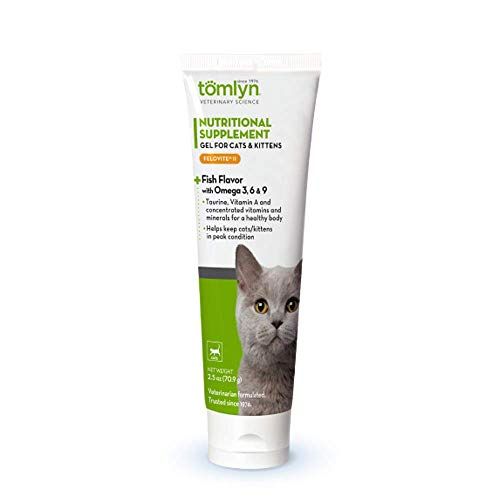 Tomlyn Felovite with Taurine Amino Acid Gel Nutritional Supplement for Cats & Kittens, 2.5oz