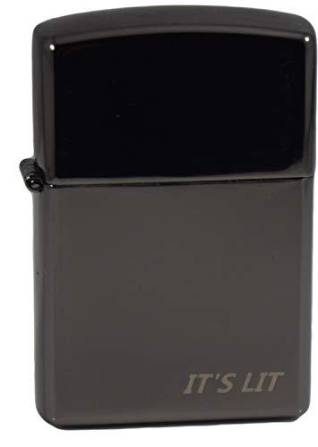 Plasma Lighter- Tesla Arc Lighter- 2020 Electric Tesla Lighter W/ LED Lights -Windproof Electric Lighter- Gift Box, Card & Cable Included (Flip Top)