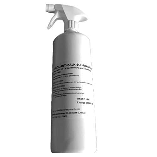 EOSOL Anti-Kalk-Schaumspray, Inhalt: 1.000 ml, gegen extreme Verschmutzungen, hochaktiv, mit...