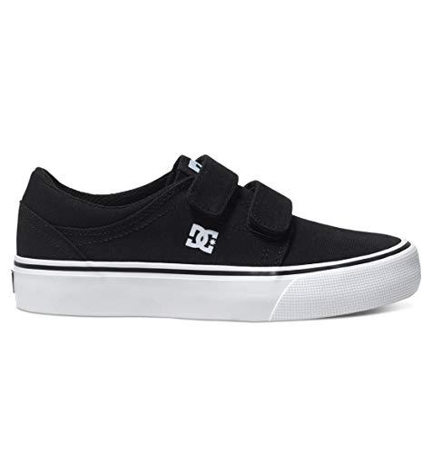 DC Shoes Jungen Pure High SE Sneaker, Schwarz (Black/White), 21.5 EU