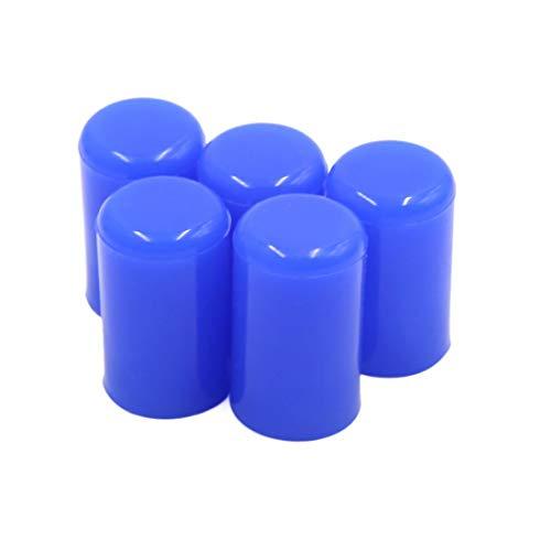 5 tapones de silicona de admisión para tubo de aspiración de 12 mm 15/32