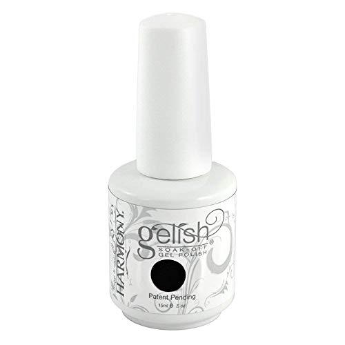 Gelish Soak Off Gel Nail Polish, Black Shadow, 0.5 Ounce